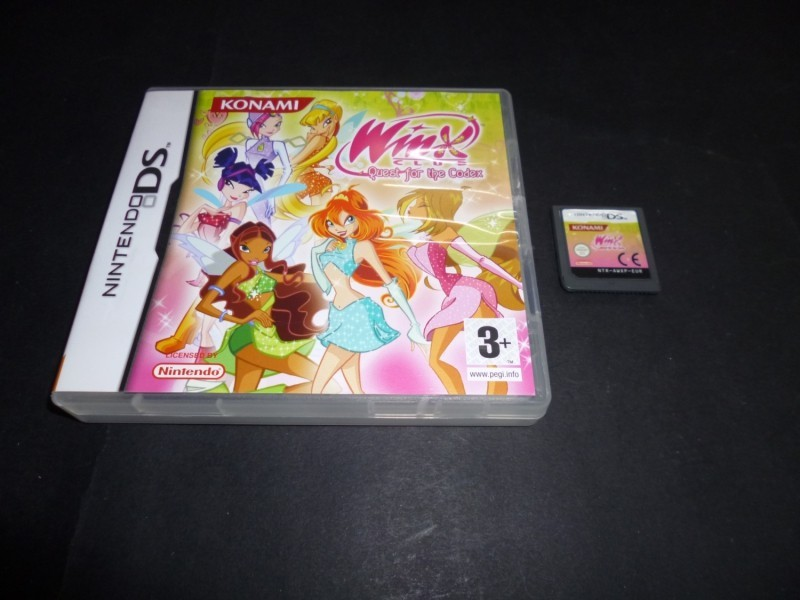 jeu nintendo ds winx club quest for the codex complet. Black Bedroom Furniture Sets. Home Design Ideas