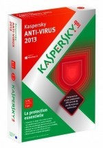 Kaspersky antivirus 2013 (3 postes, 1 an) [DVD-ROM] Windows XP / Windows Vist...