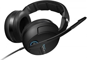 Roccat Kave XTD Analog 5.1 Casque Gaming (Véritable son Surround 5.1, Microphone Détachable) Noir