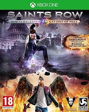 Saints Row IV : Gat out of Hell + édition re-elected - édition première
