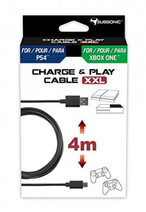 Câble Charge & Play XXL pour PS4